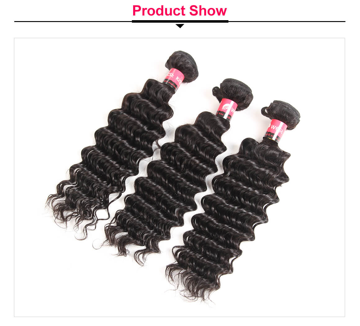 Brazilian Deep Wave Weave 3 Bundles