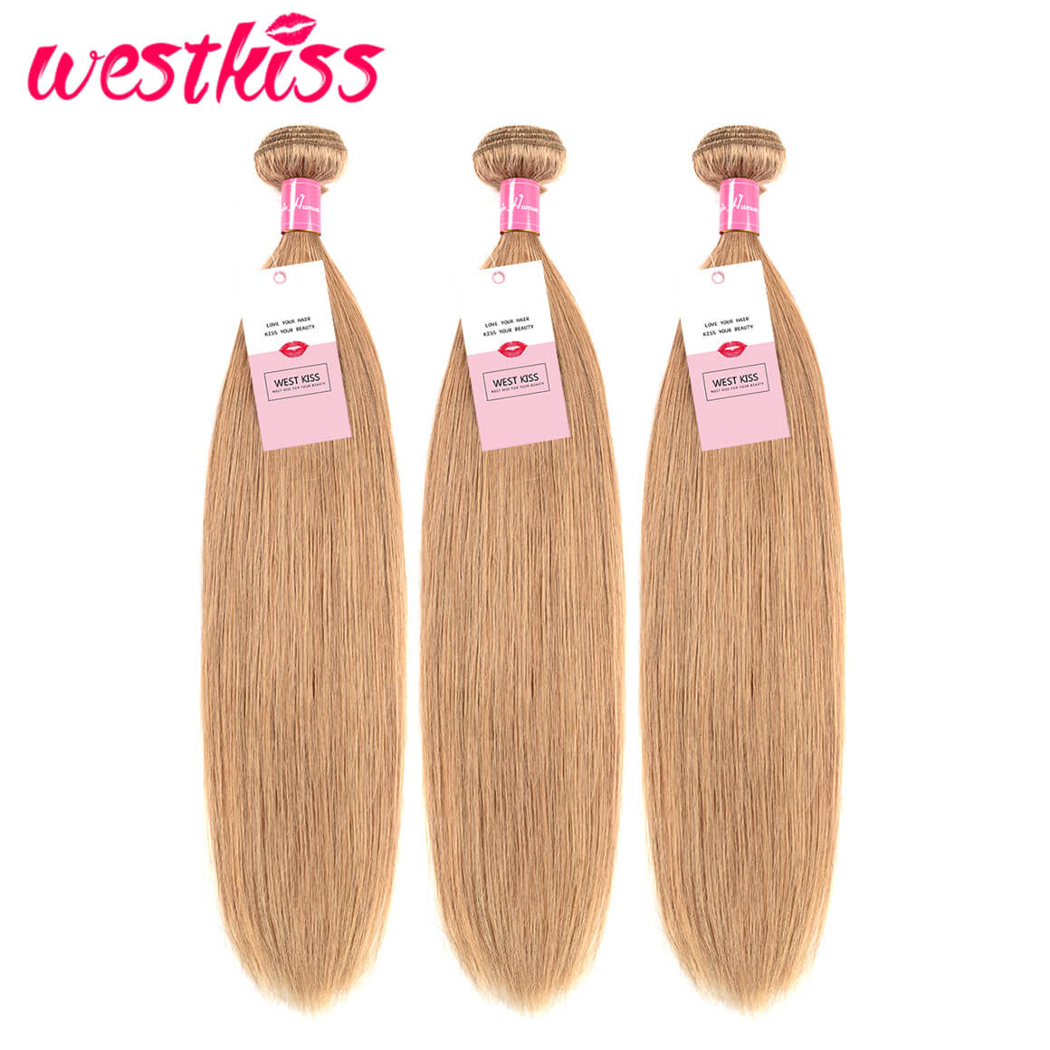 Honey Blonde Human Hair 3 Bundles