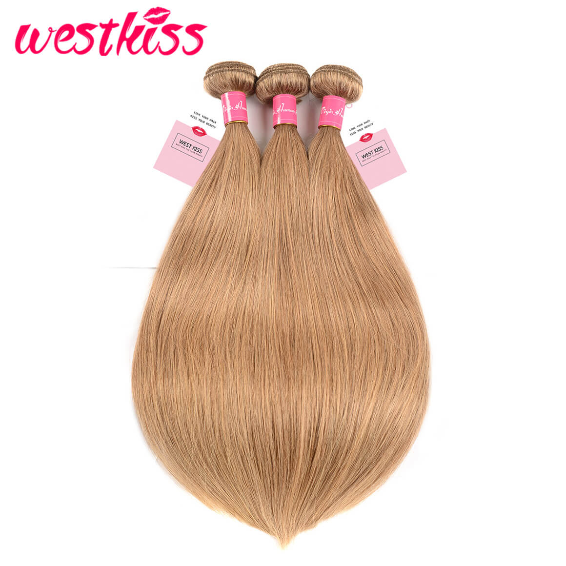 Honey Blonde Human Hair 3 Bundles