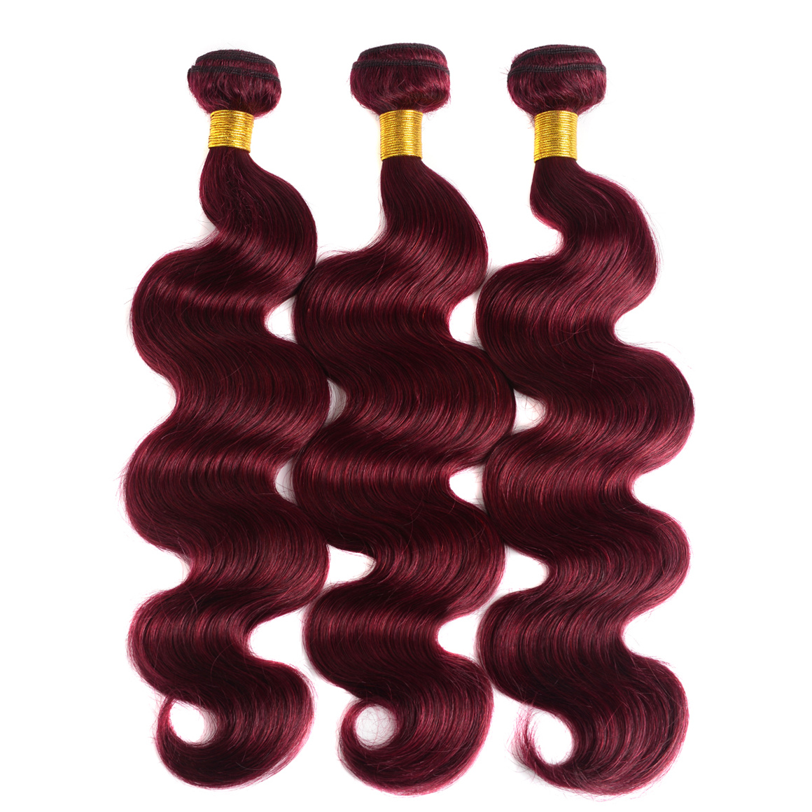 Burgundy Body Wave 3PCS