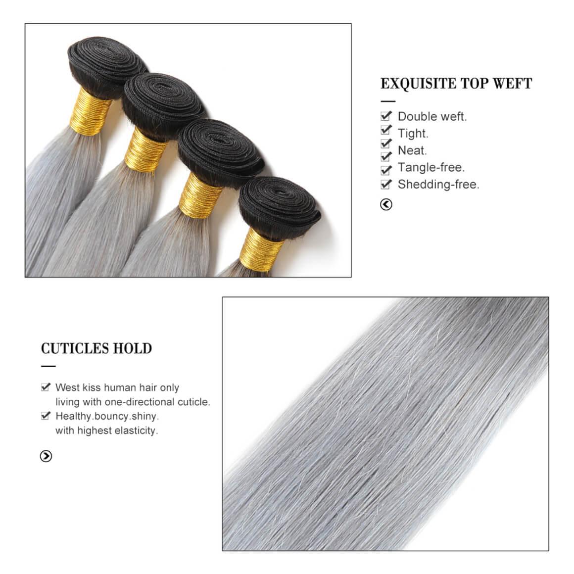 Straight Hair Weave 4 Bundles