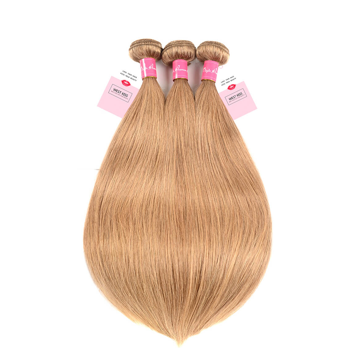 Blonde Straight Hair 3 Bundles
