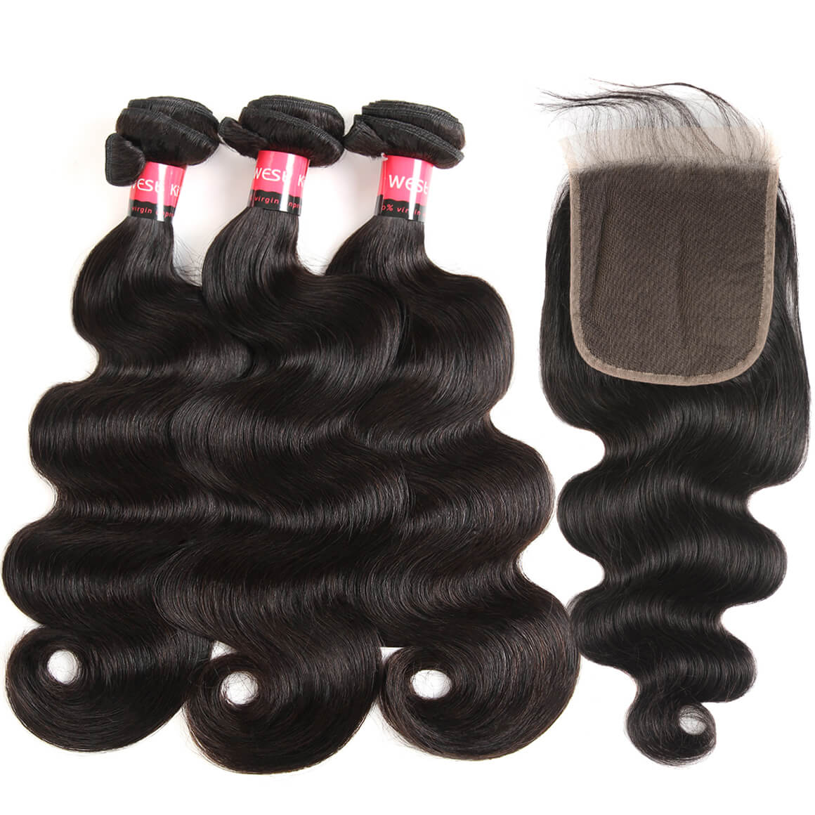 Brazilian Body Wave Hair Bundles 3 Bundles