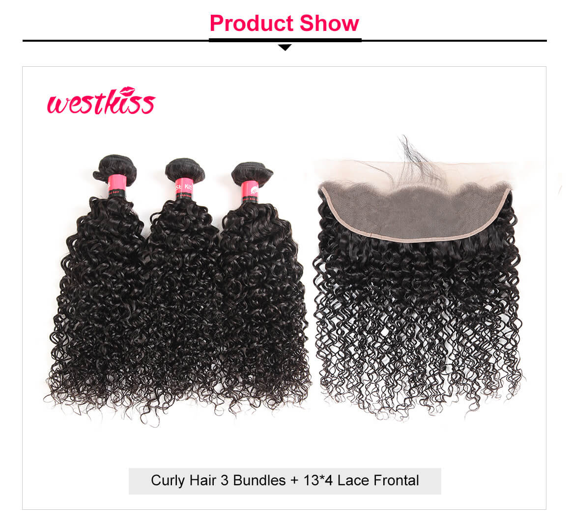Jerry Curly Hair Bundles 3 Bundles