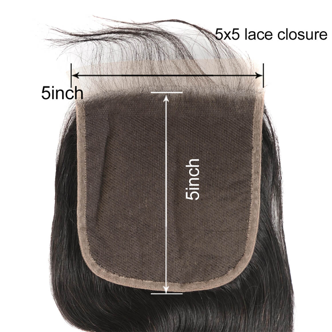 5×5 Lace Closure