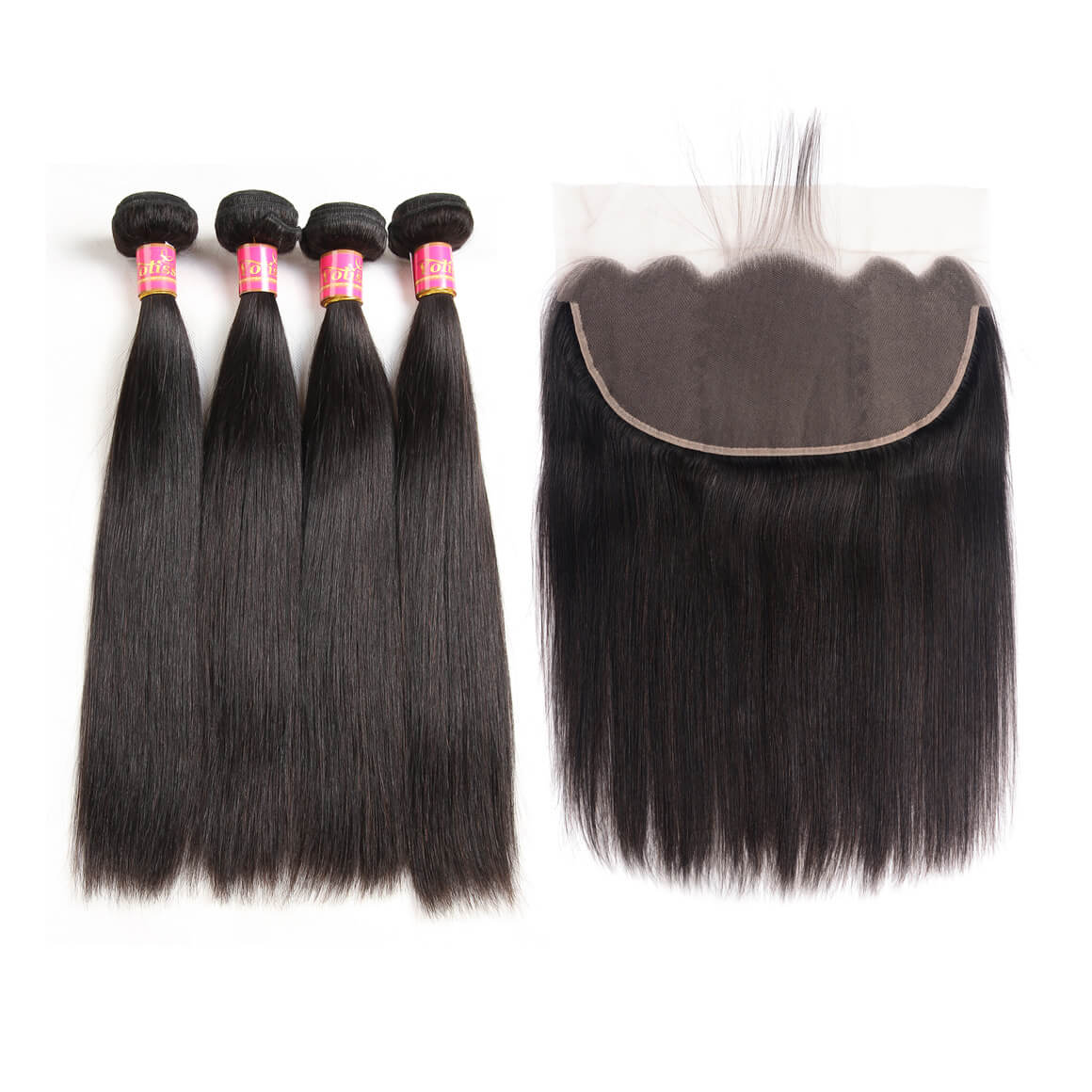 Straight Virgin Hair 4 Bundles