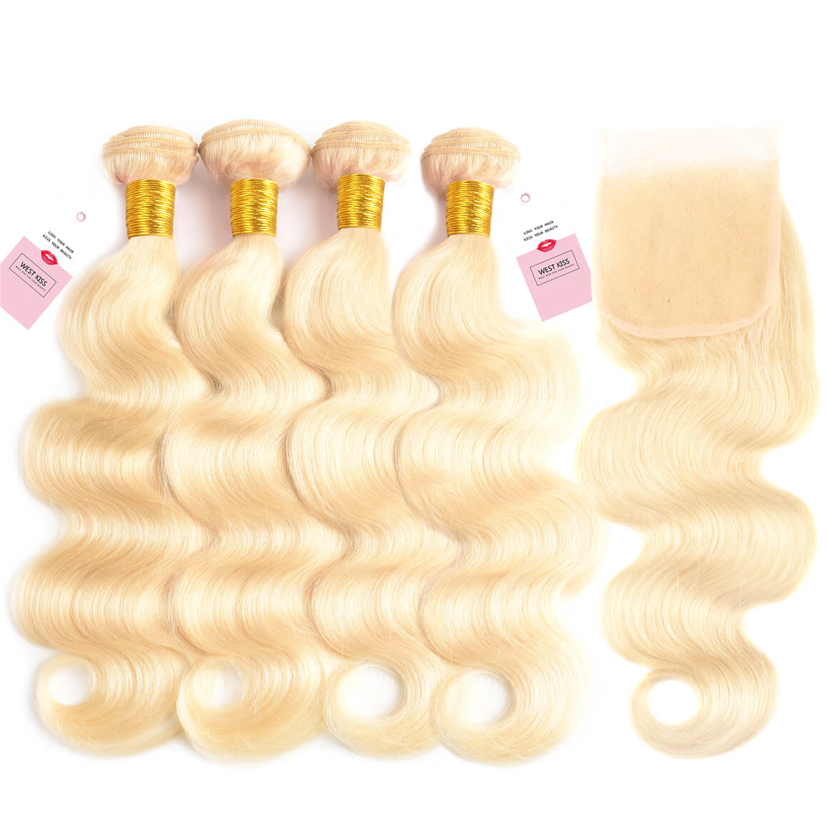 613 Blonde Hair Body Wave