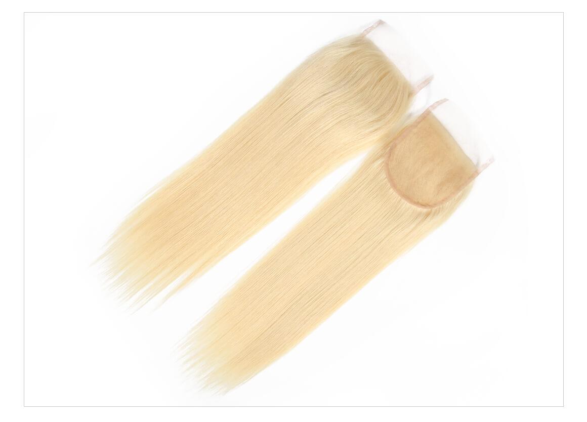 613 Blonde Bundles and Lace Closure