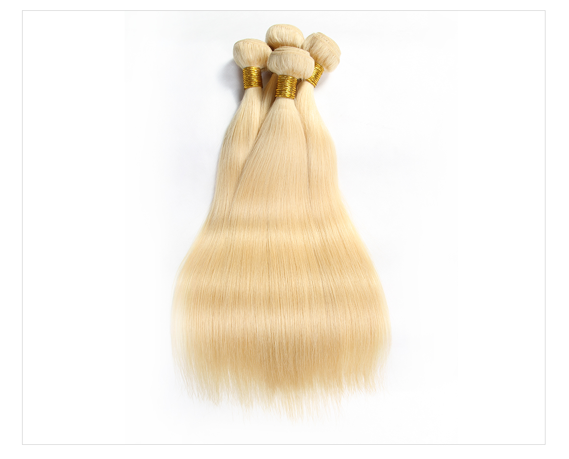 Straight Brazilian Hair Honey Blonde