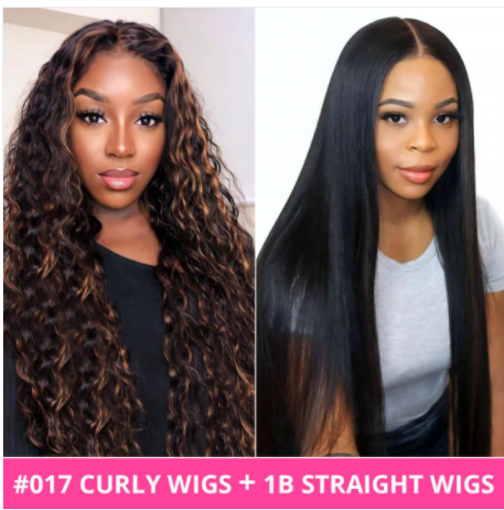Buy one get one free wigs