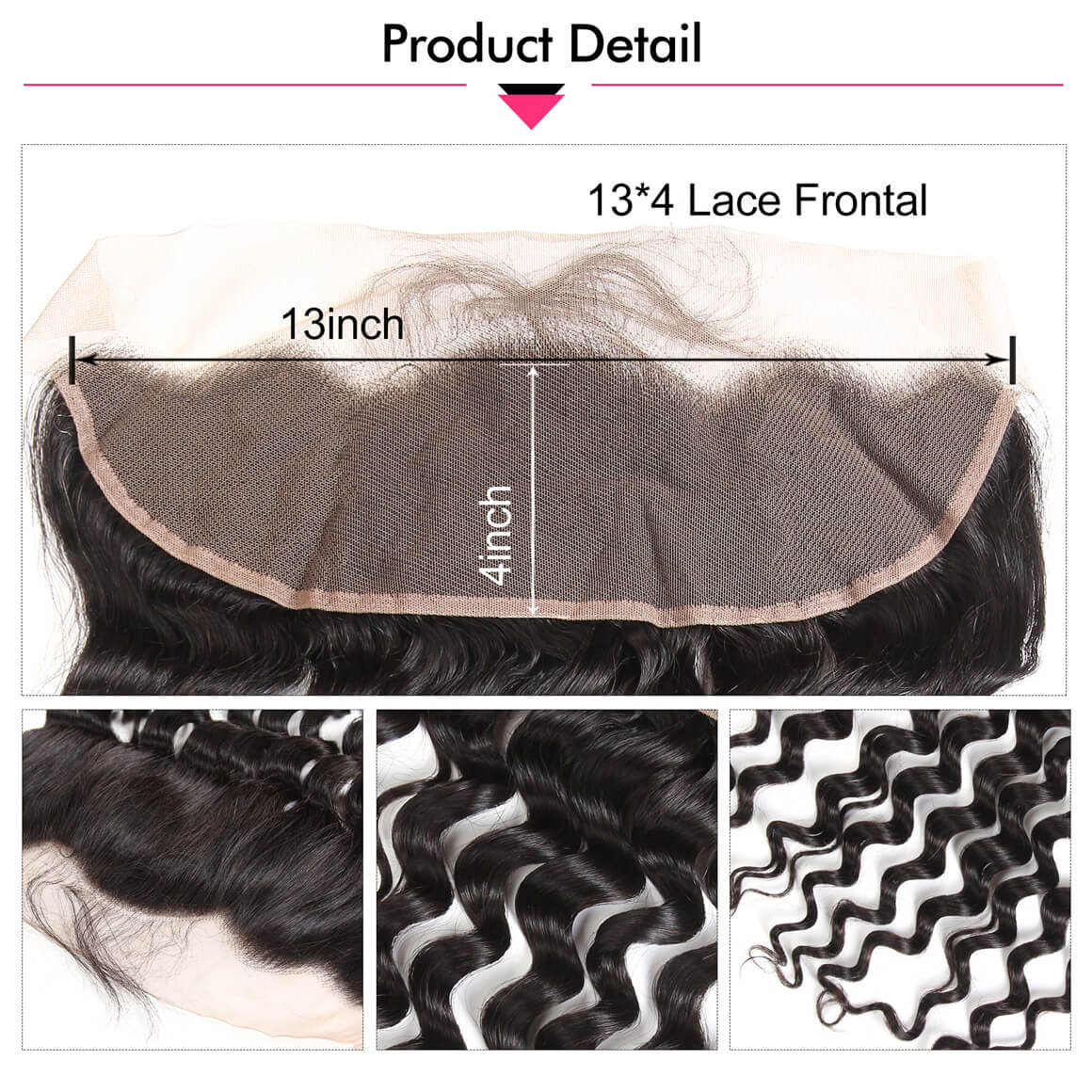 13*4 Lace Frontal Closure