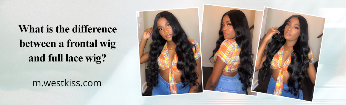 What is the difference between a frontal wig and full lace wig