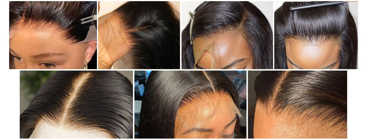 How to make an HD lace closure wig look like a frontal?