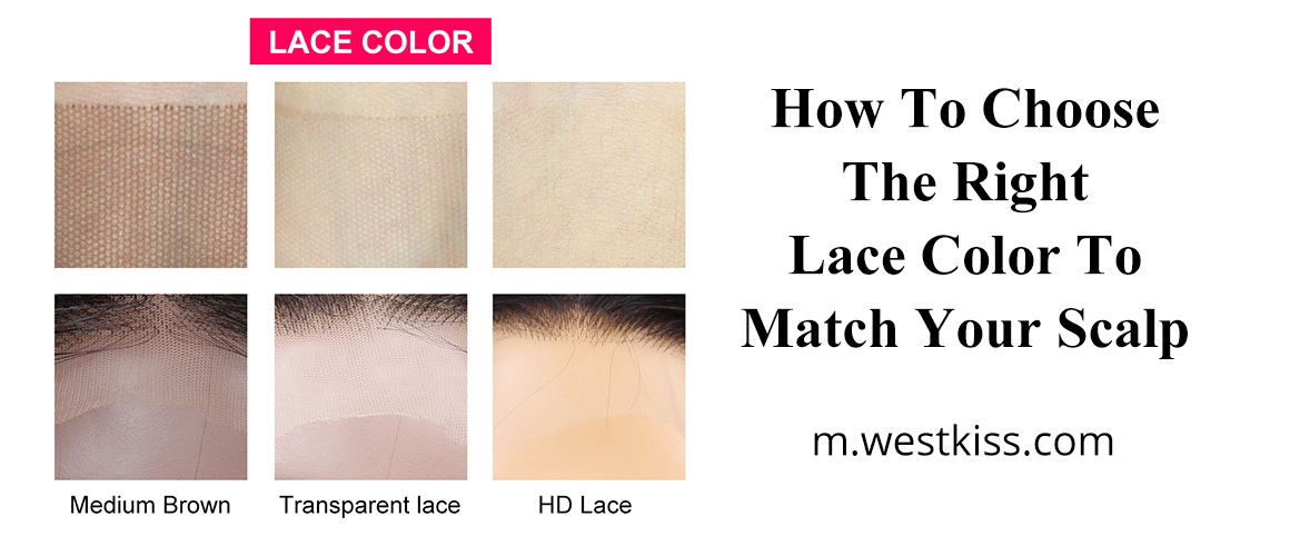 How To Choose The Right Lace Color To Match Your Scalp