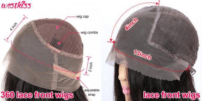 Lace Front Wigs Vs 360 Lace Frontal Wigs3