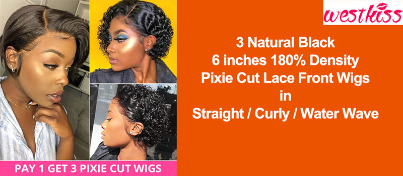Special Deals: Pay 1 get 2 Wigs with 100% Virgin Hair on West Kiss Hair