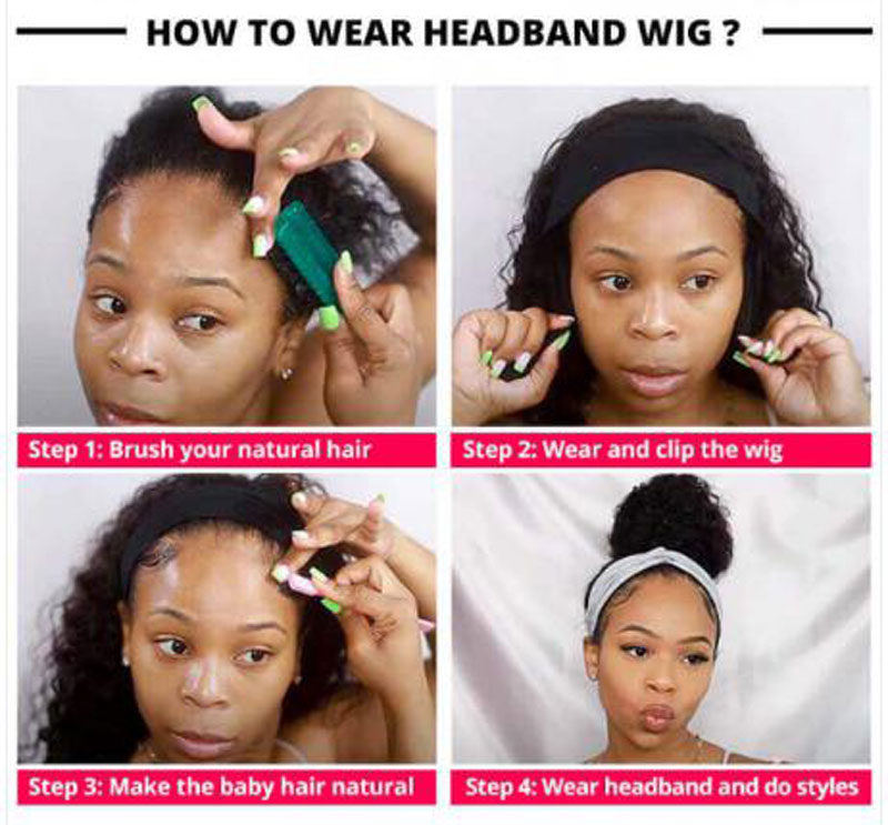 The Knowledge Of Headband Wigs