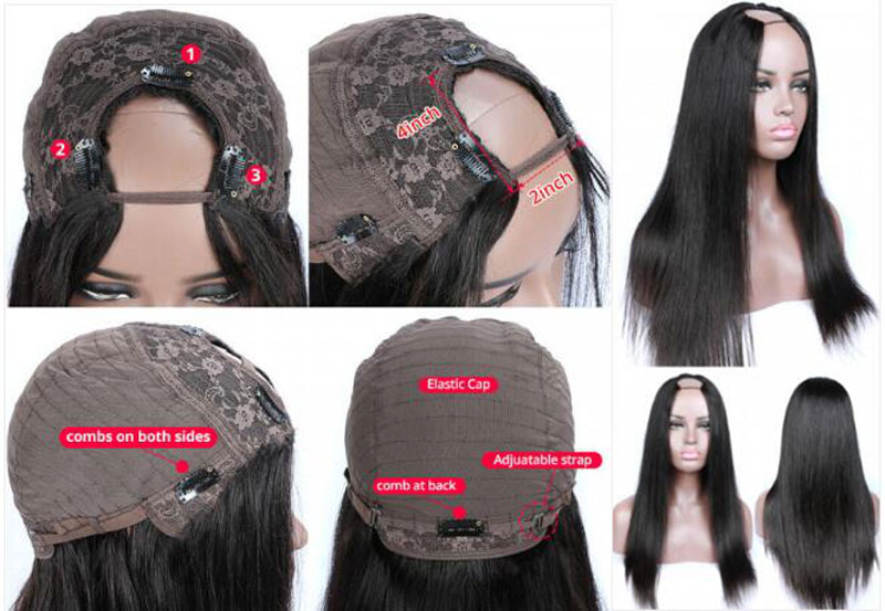 Wanting To Be A Head-turner? U Part Wig Will Help You Do That!