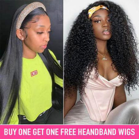 West Kiss Hair: Headband Wigs Inspiration
