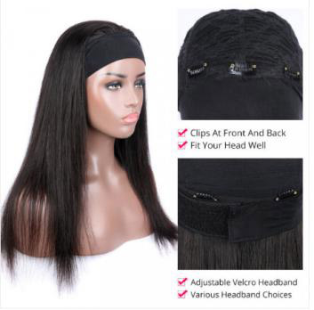 What's the difference between Lace frontal wig and Headband wig?