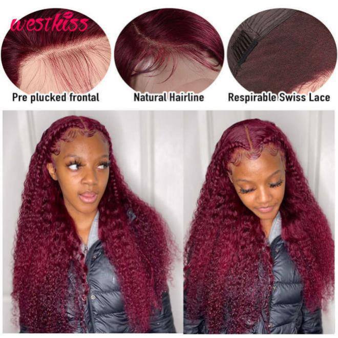 99J lace front wigs