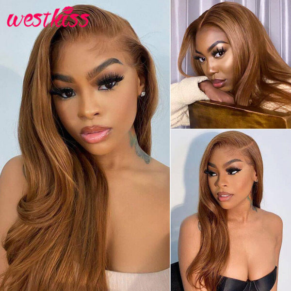 Ombre Lace Front Wigs Human Hair