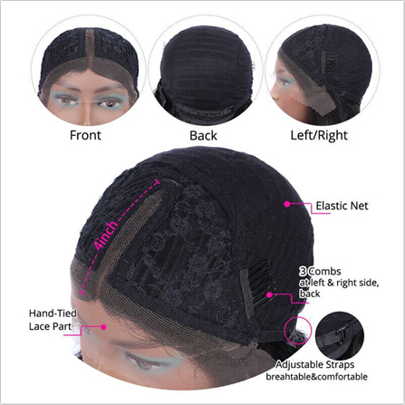 Lace Part Wigs vs Lace Front Wigs