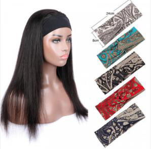 What is the advantage of the headband wig?