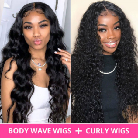 pre-plucked hairline wigs