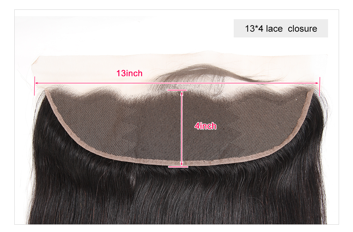 Straight Virgin Hair Lace Frontal Closure