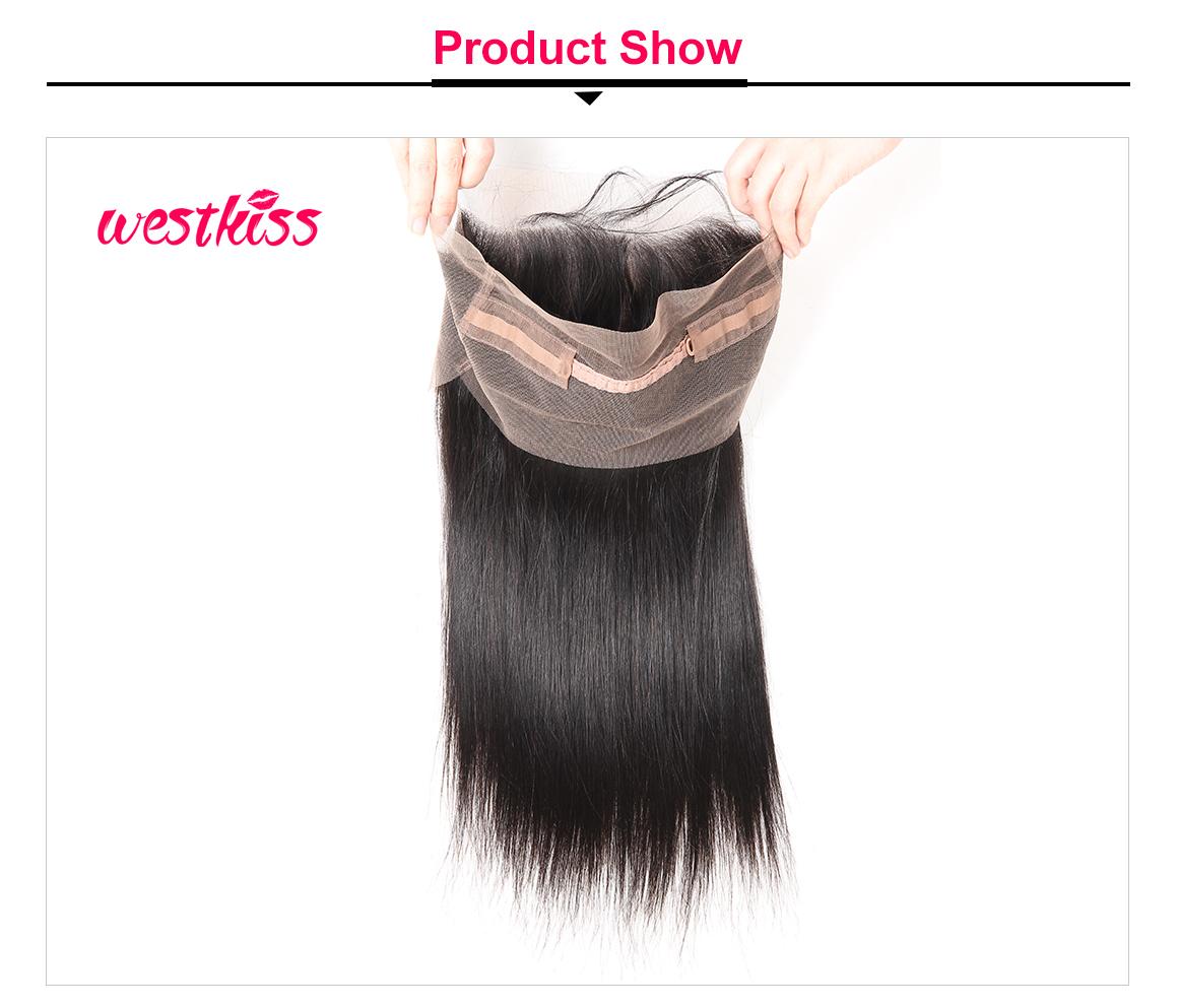 Virgin Hair 360 Frontal Closure