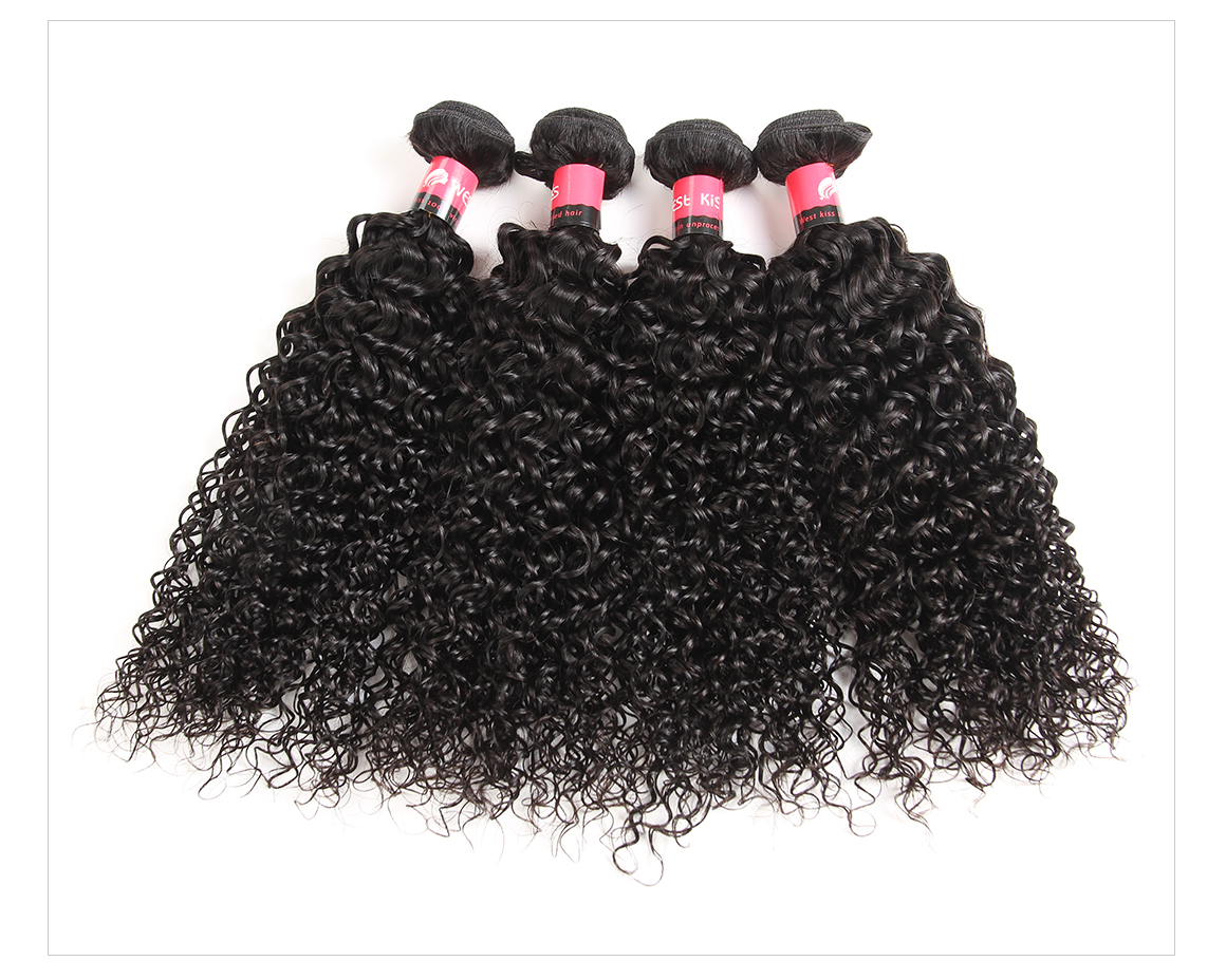 Jerry Curly Hair 4 Bundles