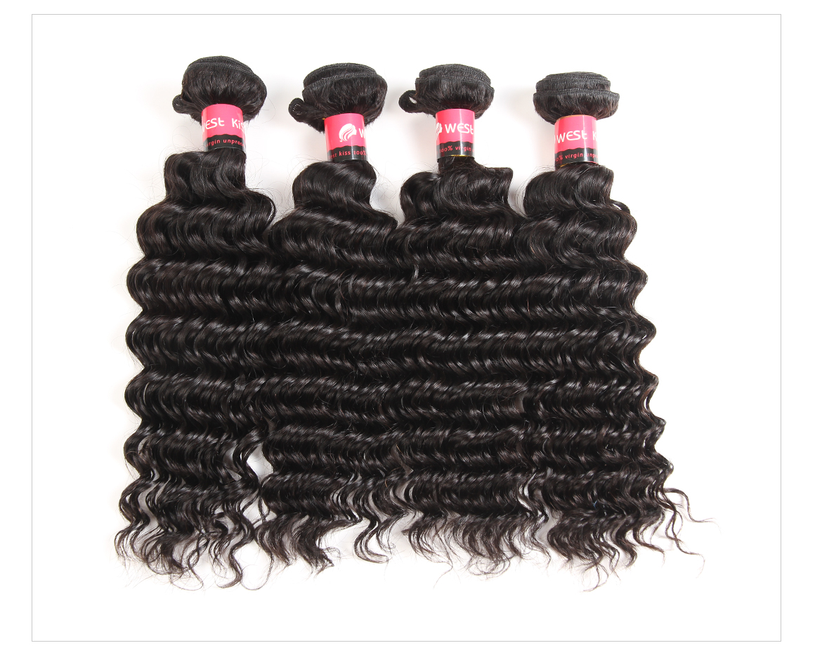 Deep Wave Brazilian Virgin Hair