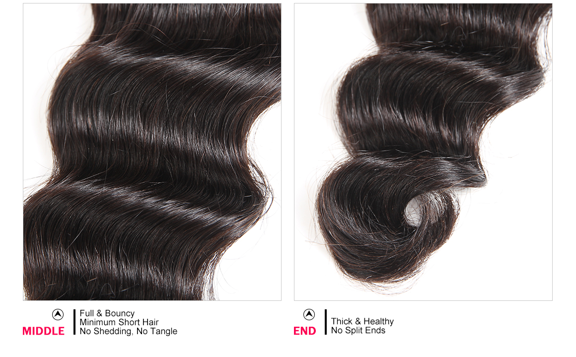 Loose Deep Wave 3 Weave Bundles