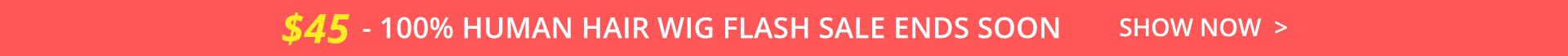 $19 BOB WIG FLASH SALE ENDS SOON